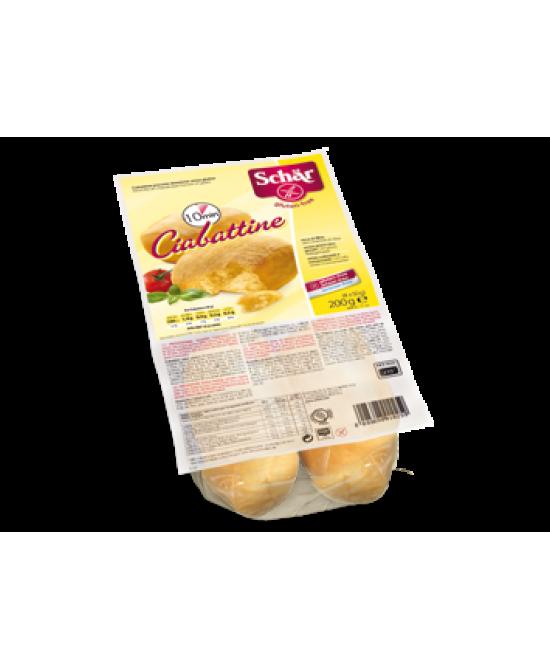 Schar Ciabattine Di Pane Senza Glutine 200g Promo