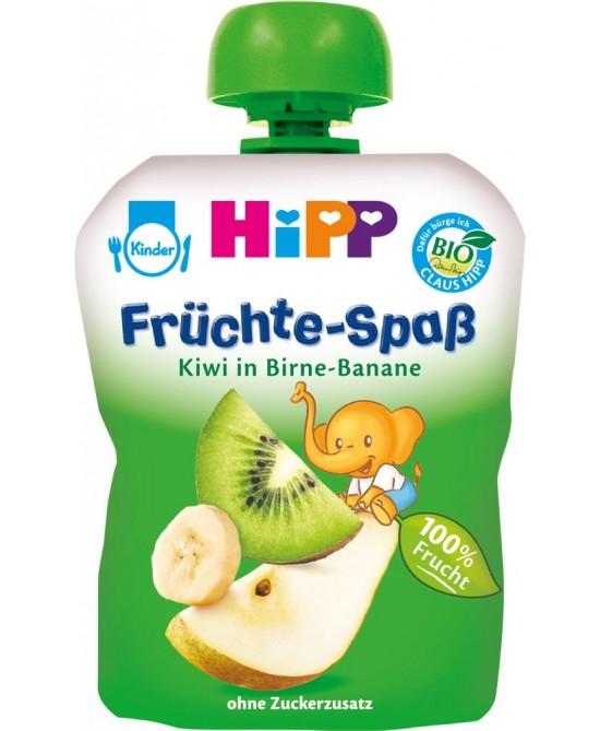 Hipp Frutta Frullata Pera Banana Kiwi Biologico 100g - Farmafamily.it