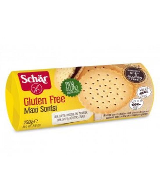 Schar Maxi Sorrisi Biscotti Senza Glutine 250g - Sempredisponibile.it