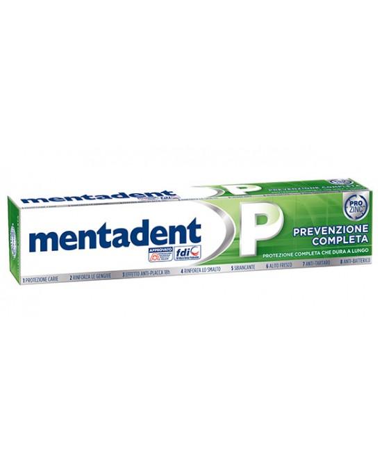MENTADENT P DENTIFRICIO 2 X 75ML PROMOZIONE - Farmapc.it