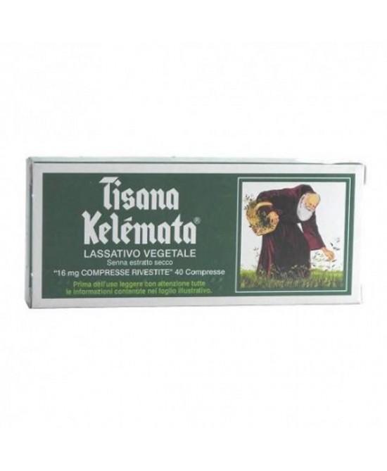 Kelémata Tisana Kelemata 16mg Trattamento Stitichezza Occasionale 40 Compresse Rivestite - Farmastar.it
