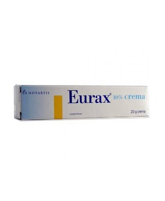 Novartis Eurax Crema Dermatologica 20g 10% - Zfarmacia