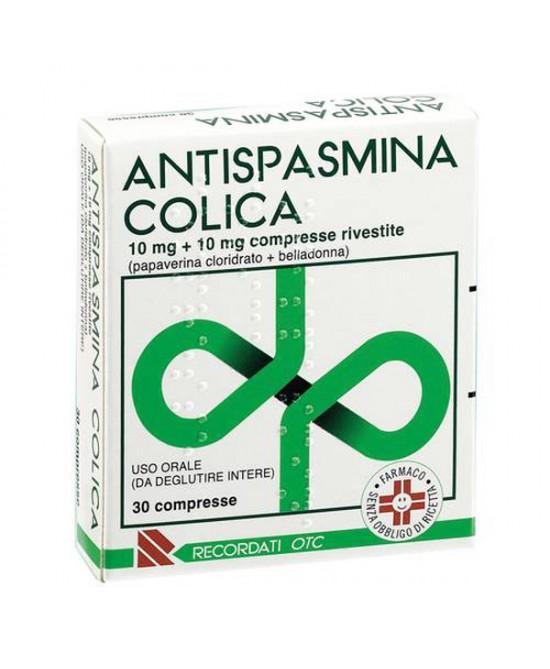 ANTISPASMINA COLICA*30CPR RIV - Farmawing