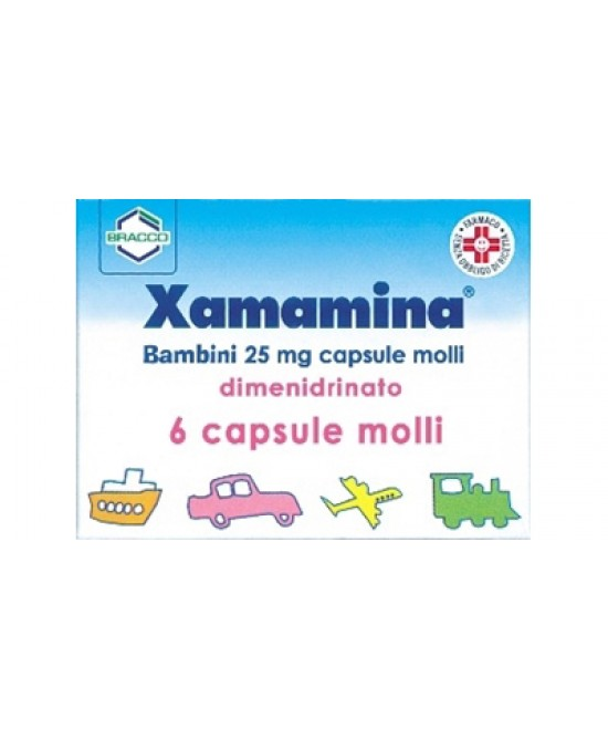 Bracco Xamamina 6 Capsule Da 50mg - Farmastar.it