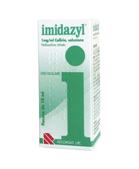 Recordati Imidazyl Collirio 0,1% Flacone Da 10ml - Farmapage.it
