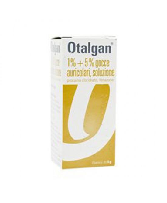 Otalgan 1%+5% Gocce Auricolari Soluzione 6g - Farmaci.me