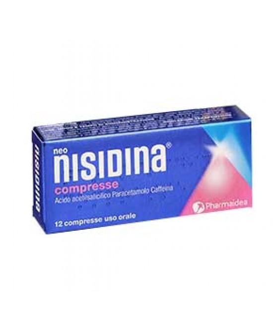 Neo Nisidina Compresse Acido acetilsalicilico / Paracetamolo 12 Compresse offerta