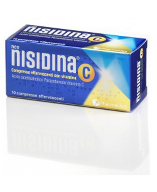 Neonisidina C 200mg + 300mg + 300mg 10 Compresse Effervescenti - Farmia.it