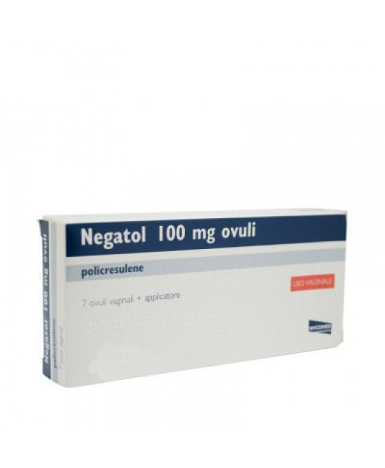 Negatol 0,1g  7 Ovuli Vaginali+ Applicatori - Farmastop