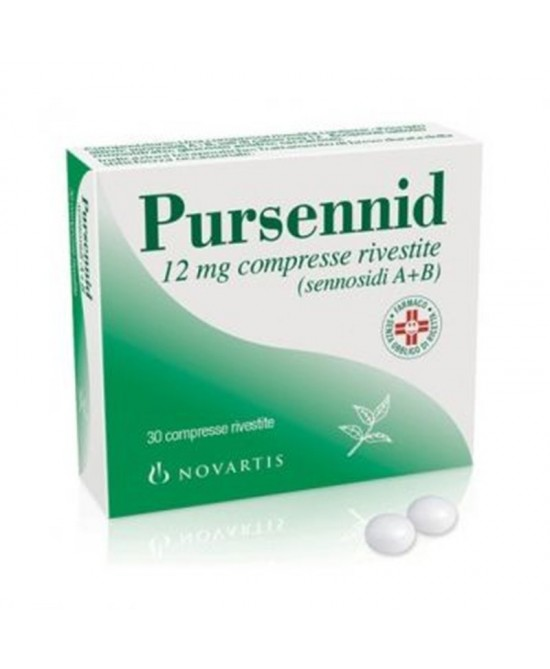 Pursennid 12mg  30 Compresse Rivestite -