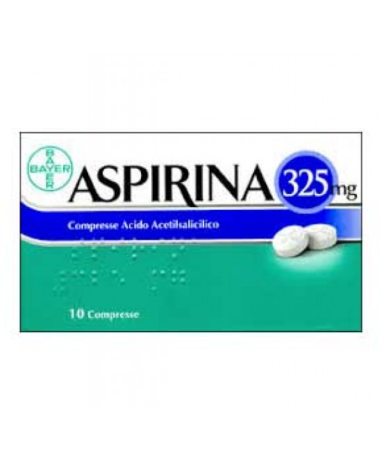 Aspirina 325mg Compresse 10 Compresse - Farmaciaempatica.it