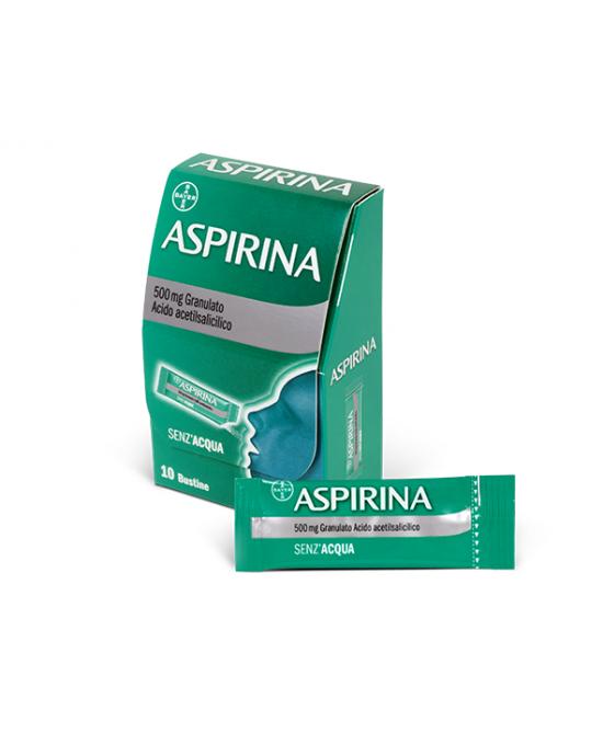 Aspirina 500mg Granulato 10 Bustine - Farmapage.it