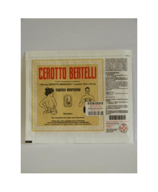 Kelémata Cerotto Bertelli Medio Uso Topico Per Dolori Articolari E Muscolari Cerotto 16x12cm - Farmapc.it
