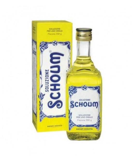 Soluzione Schoum Soluzione Orale 550g - Zfarmacia