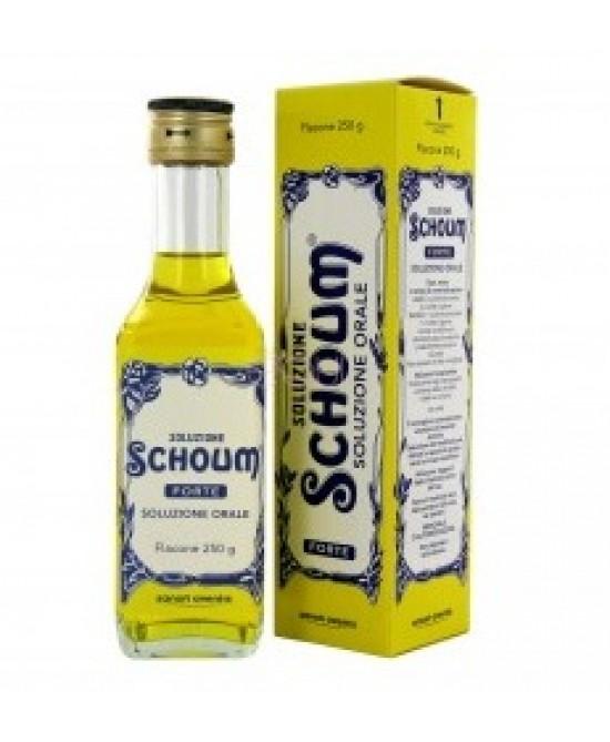 Soluzione Schoum Forte Integratore Alimentare 250g - Farmia.it