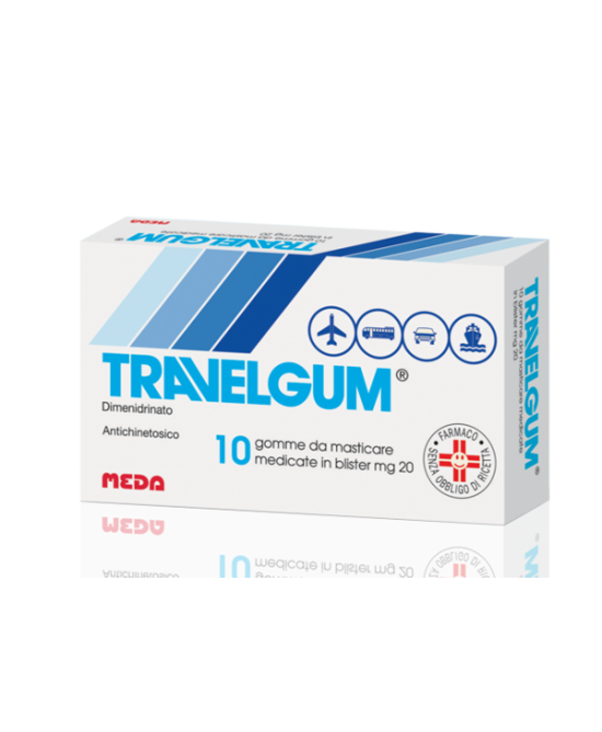 Meda Travelgum Gomme Da Masticare 10 Gomme - Farmafamily.it
