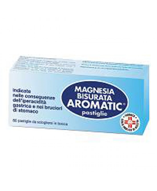 Magnesia Bisurata Aromatic 80 Pastiglie - Farmastar.it