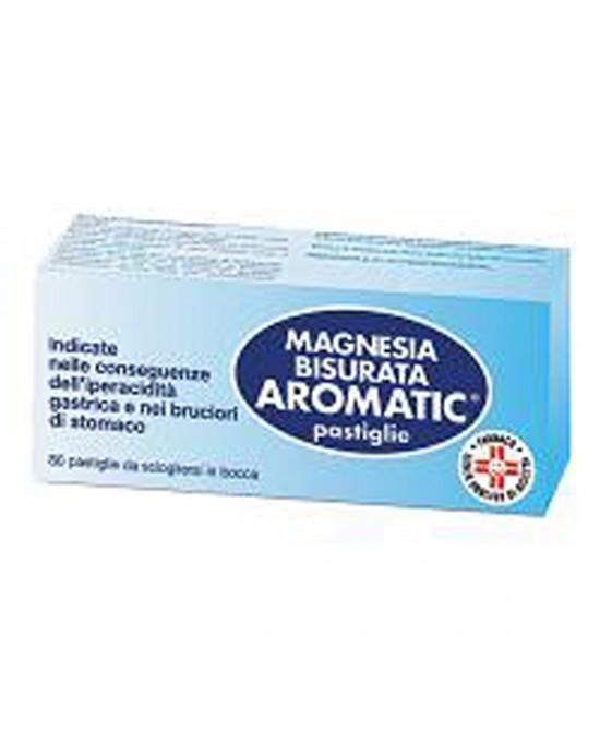 Magnesia Bisurata Aromatic Patologie Digestive 80 Pastiglie - latuafarmaciaonline.it