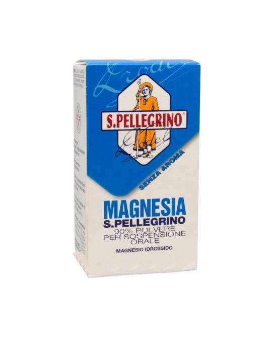 Magnesia S.Pellegrino 90% Polvere Senza Aroma 100g - Farmaci.me