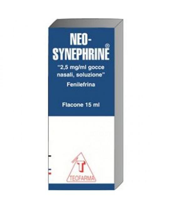 Neo-Synephrine 2,5mg/ml Soluzione Gocce Nasali 15ml - Parafarmacia la Fattoria della Salute S.n.c. di Delfini Dott.ssa Giulia e Marra Dott.ssa Michela