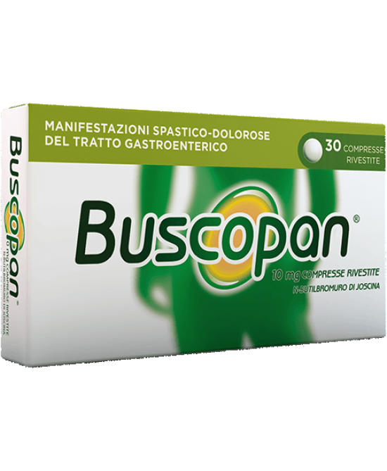 Buscopan 30 Compresse Rivestite Da 10mg - Farmastar.it