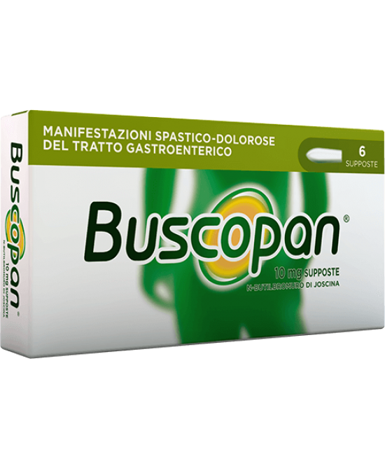 Buscopan 6 Supposte Da 10mg - Farmastar.it