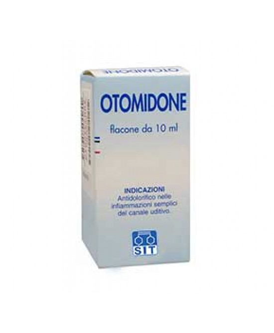 Otomidone 25 mg/ml + 28,8 mg/ml Gocce Auricolari Soluzione 10ml - Farmafamily.it
