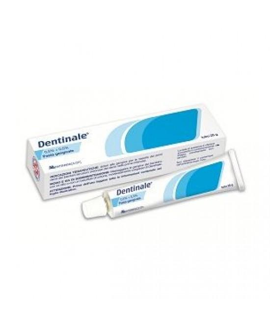 Montefarmaco OTC Dentinale 0,5%+0,5% Pasta Gengivale Tubo 25g - Farmacia 33