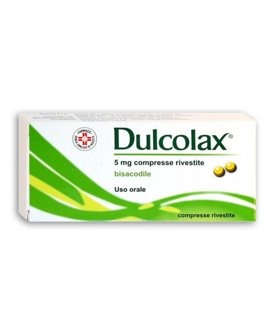 Dulcolax 5mg 40 Compresse Rivestite - Farmastar.it