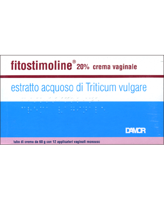 Damor Fitostimoline Crema Vaginale 20% Con Applicatori 60g - Farmaunclick.it