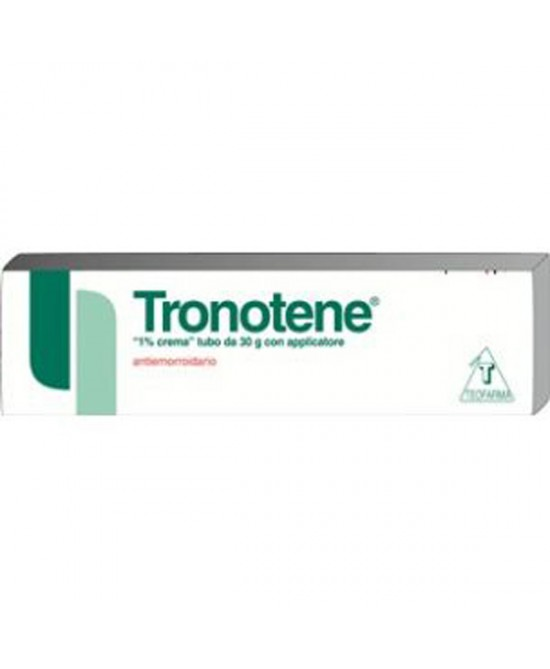 Teofarma Tronotene Crema 1% Sintomatico Nel Trattamento Delle Emorroidi Tubo 30g - Farmapage.it