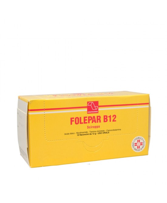 FOLEPAR B12*10FL SCIR 12G - Farmafamily.it
