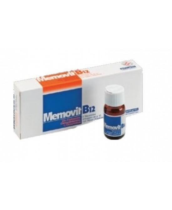 Memovit B12 Sciroppo  6 Flaconcini - Farmastop