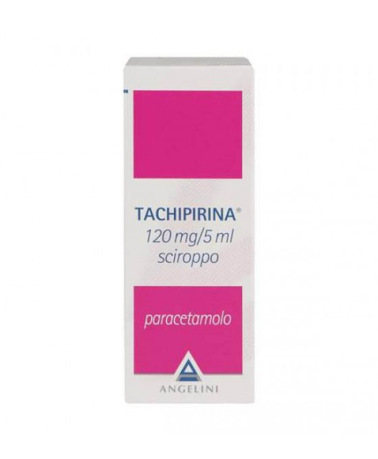 Angelini Tachipirina 120mg/5ml Sciroppo Per Febbre E Dolore 120ml - FARMAEMPORIO