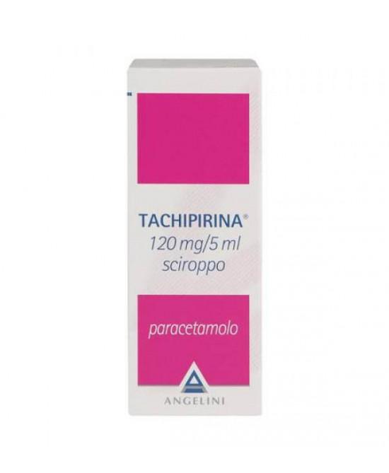 Tachipirina 120mg/5ml Angelini Sciroppo 120 ml Per Febbre E Dolore - Farmawing