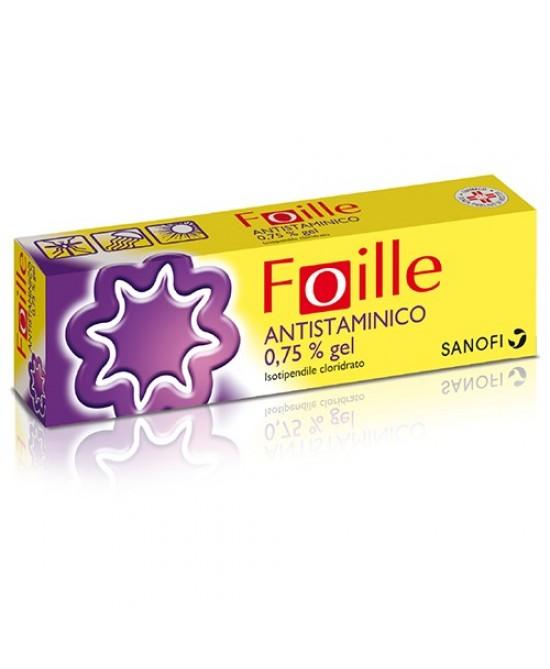 Foille Antistaminico 0,75% Gel 30g - farmasorriso.com