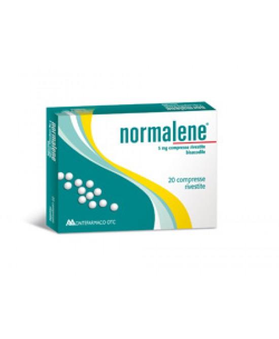 Normalene 5 mg Bisacodile Stitichezza 20 Compresse Rivestite offerta