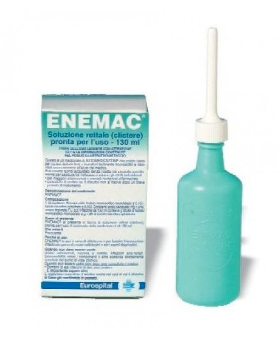Enemac 16,1+ 6/ 100ml  Soluzione Rettale 130ml - Farmacia 33