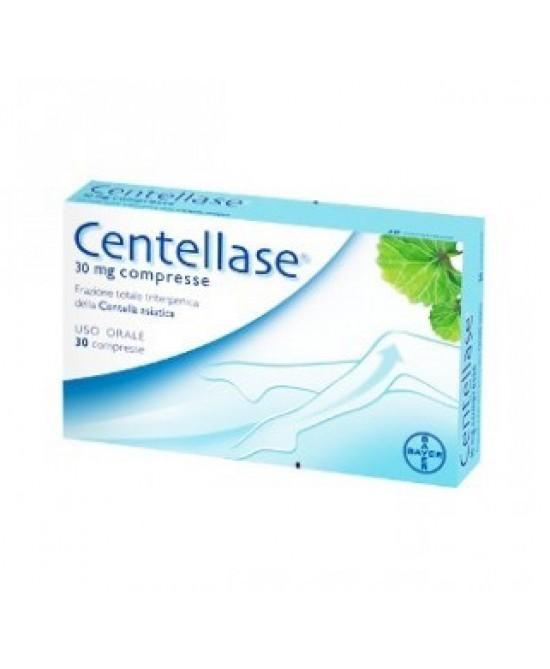 Bayer Centellase Vasoprotettore 30 Compresse 30mg  - La tua farmacia online