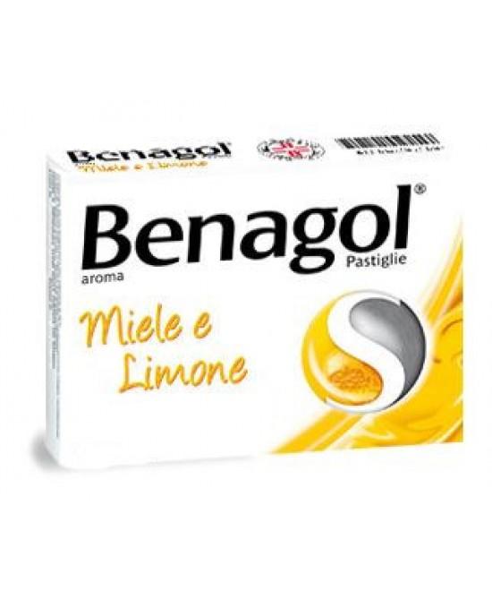 Benagol Aroma Miele E Limone 16 Pastiglie Mal di Gola - La tua farmacia online