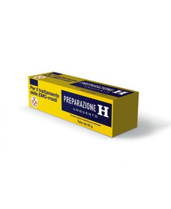 Preparazione H 1,08% Unguento Trattamento Emorroidi  25g - Farmastar.it