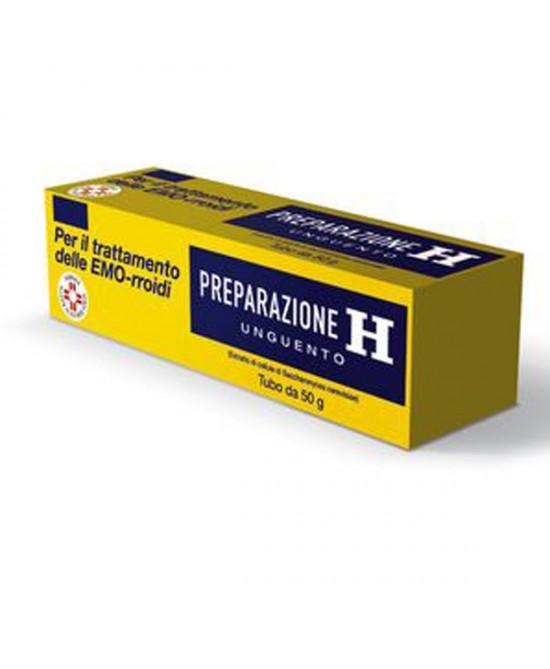 Preparazione H 1,08% Unguento Trattamento Emorroidi 50g - Farmastar.it
