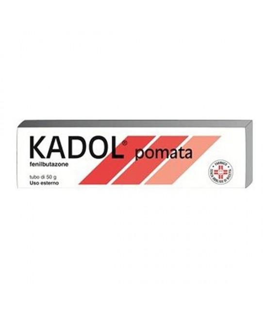 Teofarma Kadol Pomata 5% Trattamento Locale Contusioni E Ematomi Tubo 50g