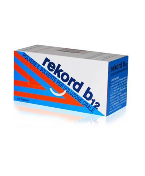 Rekord B12  10ml Soluzione 10 Flaconi - farmasorriso.com