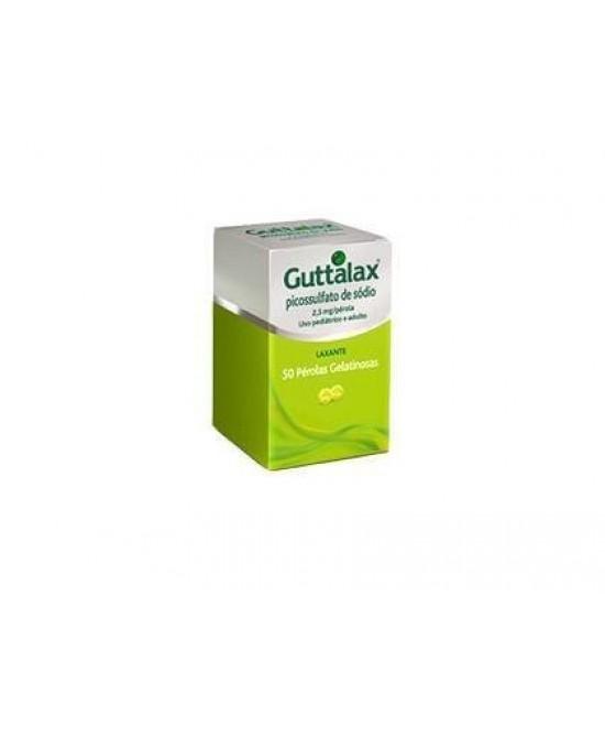 Guttalax 30 Capsule Molli Da 2,5mg - Parafarmacia la Fattoria della Salute S.n.c. di Delfini Dott.ssa Giulia e Marra Dott.ssa Michela