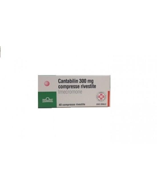 Cantabilin 300 mg Imecromone Terapia Biliare 40 Compresse Rivestite offerta