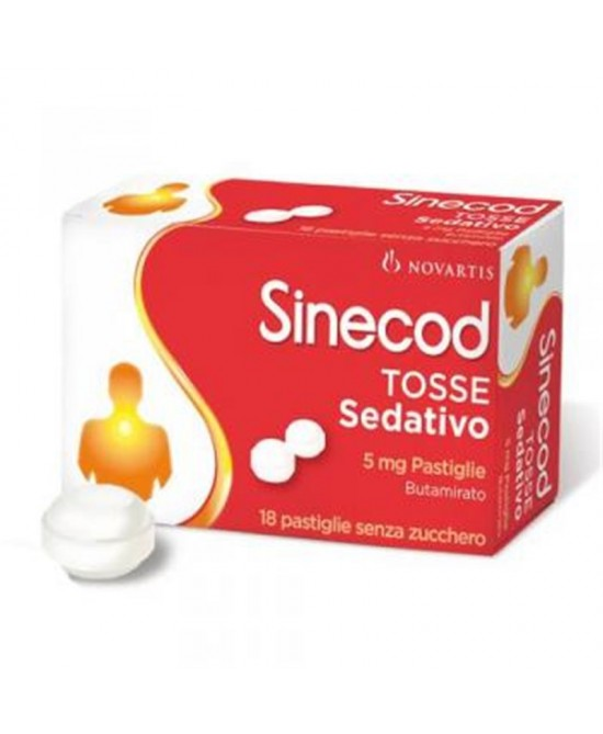 Sinecod Tosse Sedativo 5mg 18 Pastiglie - Farmia.it