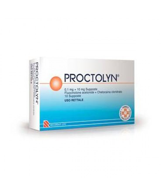 Proctolyn 0,1mg+10mg 10 Supposte - Farmastop
