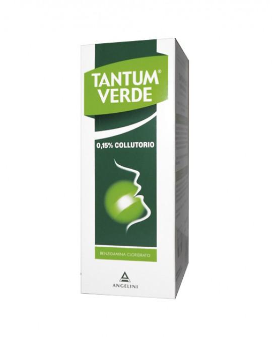Tantum Verde Colluttorio 0,15% Azione Disinfettante Ed Antinfiammatoria 120ml - Farmafamily.it