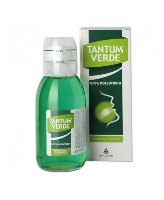 Tantum Verde Colluttorio 0,15% Azione Disinfettante Ed Antinfiammatoria  240ml - Farmastar.it